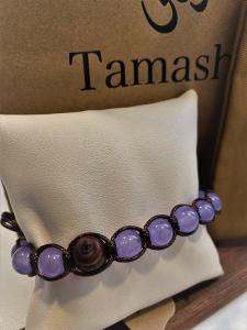 Bracciale Tamashii con Giada Lavanda