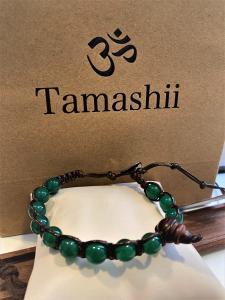 Bracciale Tamashii con Agata verde