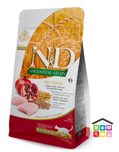 Farmina n&d gatto CHICKEN & POMEGRANATE NEUTERED 1,5kg