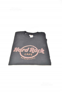 T-shirt Man Hard Rock Cafe Barcellona Black