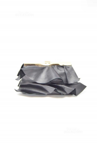 Pochette Nera In Pelle Made In Italy