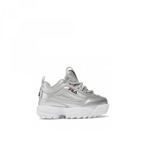 Fila Disruptor Infants Silver da Bambini