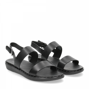 Fitflop back strap sandals Barra black