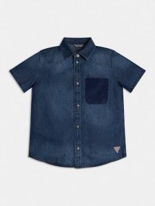 Camicia Jeans Bambino