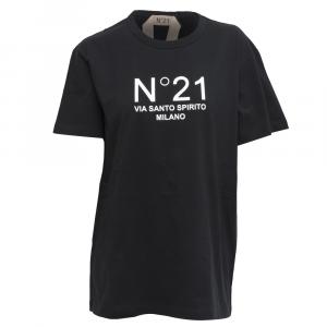N°21 - T-SHIRT CON LOGO - COL. NERO
