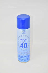 Detergent Glasses And Mirrors Itidet 40 Spray 500 Ml -