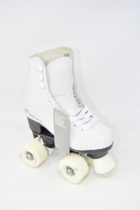 Crazy Creek Roller Skates From Artistica With Ankle Boot White New N°.33