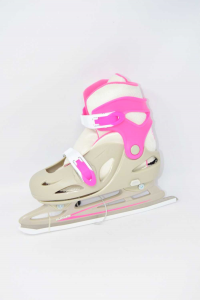 Playlife - Cyclone Pink Gray,ice Skates For Women N°.36-40 New