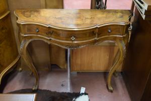 Consolle in legno stondata primi 900