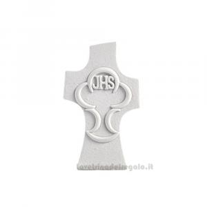 Croce con Calice stilizzato in Scatola Regalo in resina 5.6x9.5 cm - Bomboniera comunione