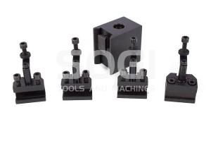 Torretta porta utensili SOGI TOR\/M1.4 di tipo rapido registrabile per tornio SOGI M1-150 MS-1