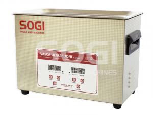 Vasca lava pezzi ultrasuoni riscaldata 4,5L SOGI VL-U450R