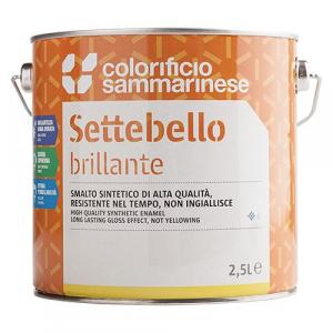 SMALTO SINTETICO 'SETTEBELLO' Lt. 0,125 Testa di moro