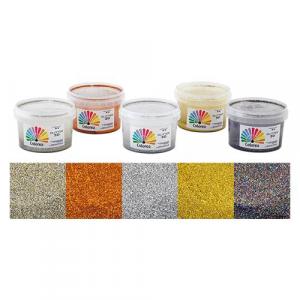 GLITTER PER DECORAZIONI ml.250 - multicolor