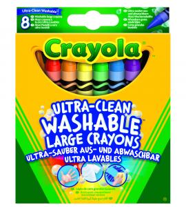 Crayola 8 Pennarelli Maxi-Punta Lavabilissimi