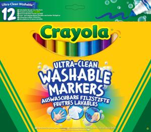 Crayola 12 Pennarelli Maxi-Punta Lavabilissimi