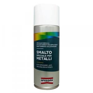 SMALTO SPRAY SPECIALE METALLI ml. 400 - bianco ghiaccio opaco