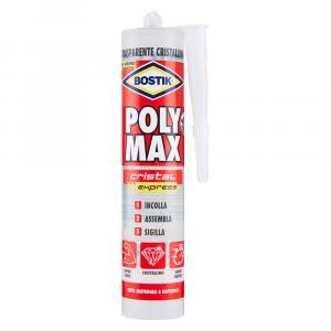 ADESIVO SIGILLANTE UNIVERSALE 'POLY MAX' CRISTAL EXPRESS gr. 300