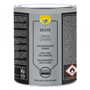 PROTETTIVO ANTIRUGGINE 'ZINCO CHIARO' kg. 4 - liquido