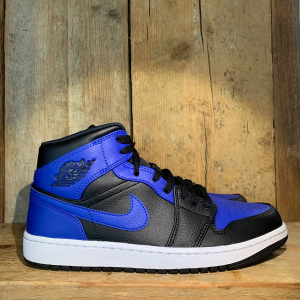 Scarpa Air Jordan 1 Mid Blu Royal E Nera