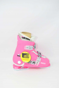 Ski Boots New Roces Pink Idee Up N°.30-35