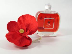 Profumatore con orchidea Rosso divino