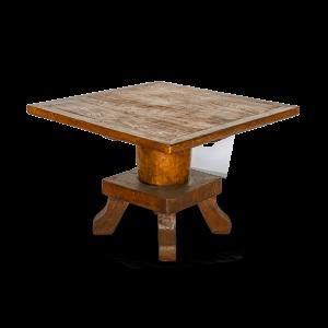 Tavolo quadrato cm 110 x cm 110 in legno di teak
