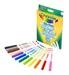 Crayola 12 Super Tips – Pennarelli Lavabili Superpunta