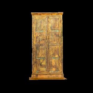 Armadio / Credenza con ante in legno recuperato indiano