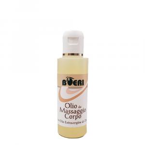 Olio massaggio corpo con Olio Extravergine di oliva 125 ml