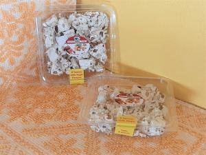 Vaschetta Torrone Mandorle e Miele - Tagliato a pezzi - 200g