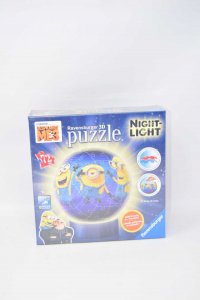 Lampada Ravensburger puzzle 3d Lampada notturna Cattivissimo me 3 Minions Nuova
