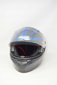 Motorcycle Helmet Nolan Gray Anthracite Size L