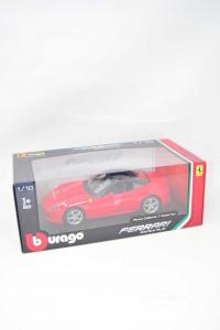Modellino Ferrari Burago 1/18 California T Closed Top NUOVA