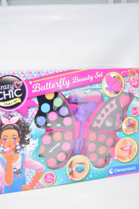 Gioco Clementoni Butterfly Beauty Set Crazy Chic NUOVO