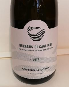 Nuragus Di Cagliari DOC 2019 - Antonella Corda CL. 75