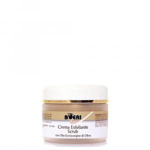 Crema esfoliante Scrub con Olio Extravergine di Oliva 50 ml