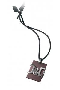 Collana unisex D&G Jewels. Piastra D&G.