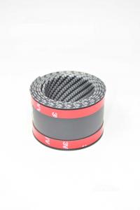Battitacco Finto Carbonio Per Auto Adesivo