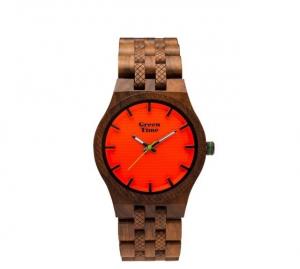 Orologio solo tempo uomo in legno sandalo Green Time ZW114B