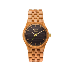 Orologio solo tempo uomo in legno sandalo Green Time ZW114A