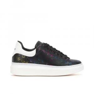 Gaelle Paris Sneakers Multi logo Nera da Donna