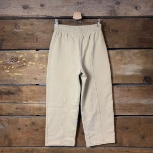 Pantalone American Vintage Jogger Cropped Stucco