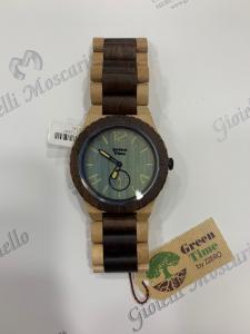 Orologio solo tempo uomo in legno sandalo  Green Time ZW024L