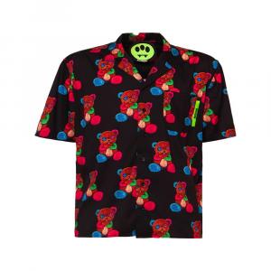 BARROW Short Shirt Bear Black