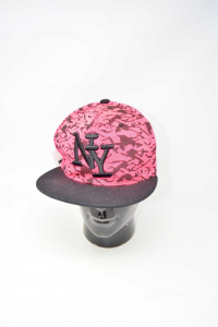 Cappellino NY Rosa O Nero 58 Cm