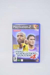 Videogioco Per Ps2 Pro Evolution Soccer 4