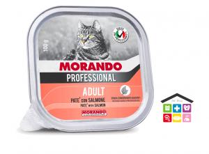 Morando Professional ADULT PATÈ CON SALMONE 100g