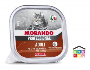 Morando Professional ADULT PATÈ CON SELVAGGINA 100g