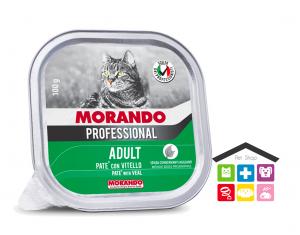 Morando Professional ADULT PATÈ CON VITELLO 100g